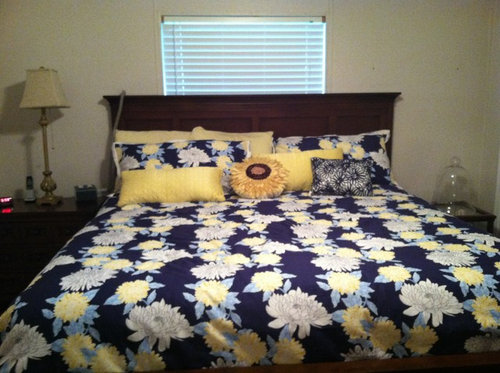 Best For Bed Placement Is In Front Of The Window I Didn T Want To Put Hanging D On Each Side Idea Any Other Ideas How Decorate Disguise