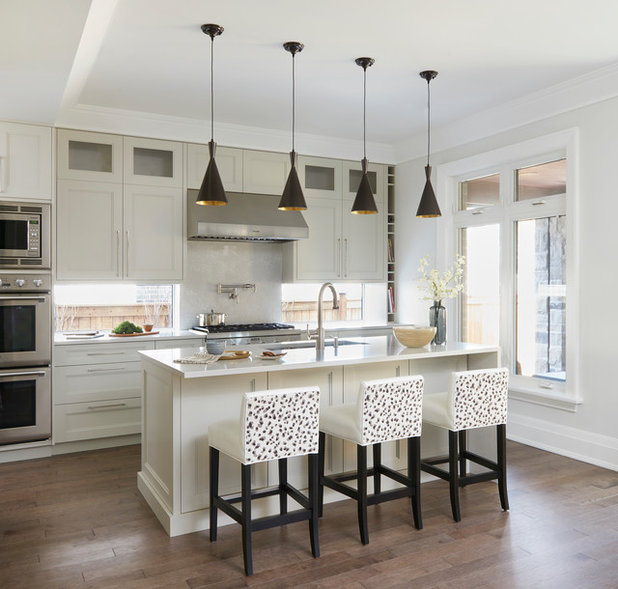 L Shaped Kitchen Houzz: Kitchen Tour: An L-shaped Layout And Neutral Scheme Boost