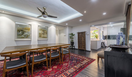 Houzz Tour: Past and Present Converge with a Modern Asian Theme