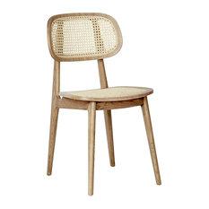 Brazil Dining Chairs Set Of 2 Oak