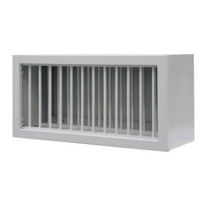 """Sunny Wood RLW3015PL-A Riley 30"""" x 15"""" Plate Holder Wall Cabinet - White"""