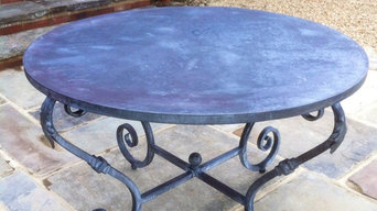 Hand made patio table.