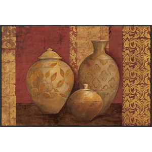 Aegean Vessels On Spice Wrapped Canvas Art Print Contemporary Prints And Posters By Great Big Canvas