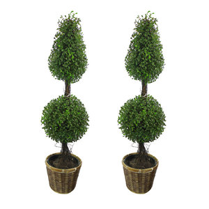 Artificial Boxwood Topiary Tree