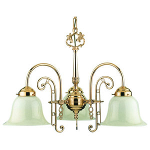 Florence Ceiling Lamp, Polished Brass