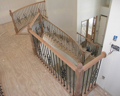 Wrought iron spiral staircase the process - Spiral staircase wrought iron ...