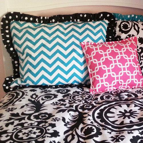 Custom Chevron & Suzani Print Bedding - Products