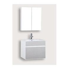 TEC-8003-60-LN Basin Cabinet - Bathroom Vanity Units & Sink