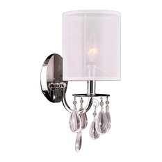 50 Most Popular Contemporary Candle Wall Sconces for 2019 ... on Decorative Wall Sconces Candle Holders Chrome Nickel id=72450