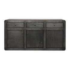 Intrustic Flavien Sideboard, Plain Zinc