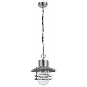 Modern Stainless Steel Aluminium Hanging Lantern Porch Light