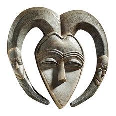 Kwele African Mask