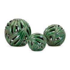 Palmetto Wall or Deco Balls, 3-Piece Set