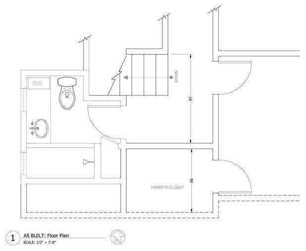 Floor Plan Romantic Bathroom Potter