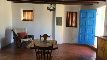11868 Historic Adobe in New Mexico Living Area Before/After