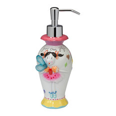 bath faerie princess lotion dispenser kids bathroom accessories