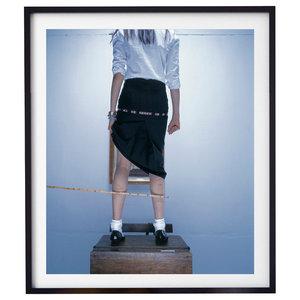 """Bad Girl 004"" Fashion Photography Print, Framed, 58x71 cm"