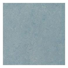"Forbo Marmoleum Click Cinch Loc, Blue Heaven, Set of 7, 12""x36"" Panels"