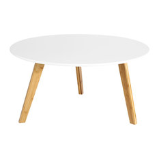 Poly and Bark Costanoa Coffee Table, White