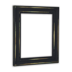 the rusty roof distressed black picture frame solid wood 10x13 picture frames