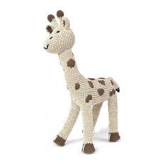- Doudou girafe sable - Jouet Bébé