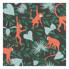 Langur Black Monkey Troop Wallpaper Bolt