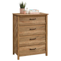 "Sauder Woodworking 424187 Cannery Bridge 31-1/4"" Wide Four Drawer Wood Dresser"