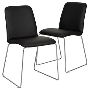 Finnoy Chairs, Black, Set of 2