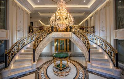 Delhi Houzz: A Plush Chateau With a French Renaissance Spirit