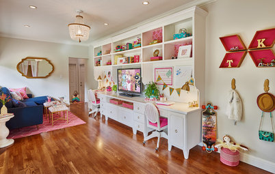 Room of the Day: A Fun and Functional Lounge for 2 Tweens
