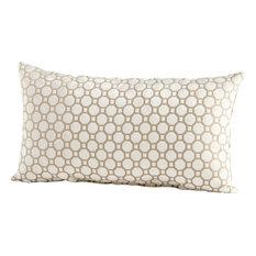 Cyan Design Taupe Pillows - 06509