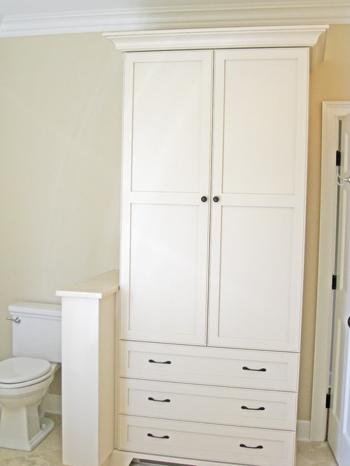 Bathroom Linen Cabinet Ideas, Pictures, Remodel and Decor