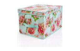 Isaac Mizrahi Ikat Floral Large Storage Box