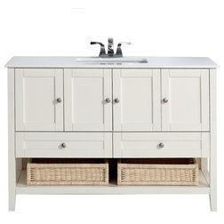 Best Transitional Bathroom Vanities And Sink Consoles by Simpli Home Ltd