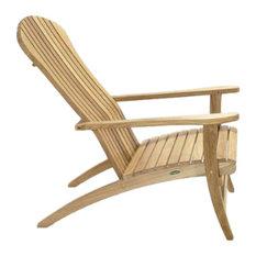 Teak Adirondack Chair, No Cushion