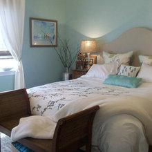 French Coastal Master Bedroom