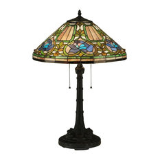 "26.5"" Tiffany Floral Table Lamp"