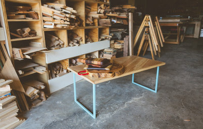 Studio Tour: New Life for Reclaimed Wood in Austin