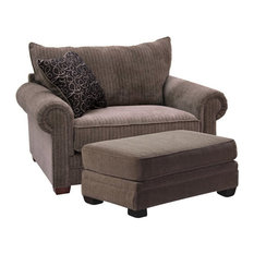 Jackson Furniture Anniston Chair and a Half, Saddle