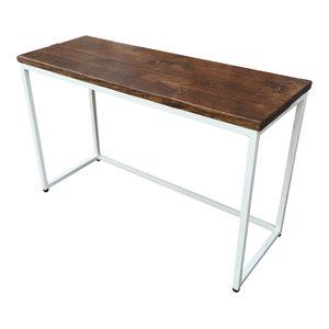 Standard Reclaimed Wood Desk, White, Small