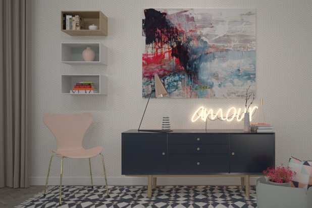 Contemporary  by Anita Brown 3D Visualisation