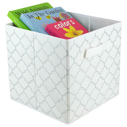 Contemporary Storage Bins And Boxes by HOME BASICS