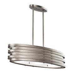 Kichler - Roswell Oval Island Pendant Lamp - Kitchen Island Lighting