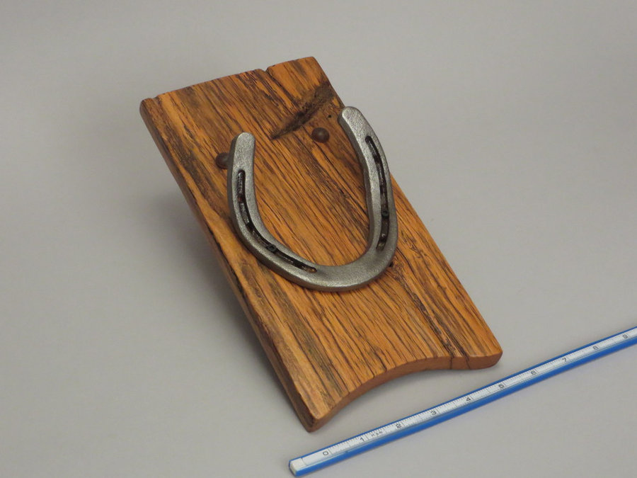 #R15104 Reclaimed Lumber, Horse Shoes, Tack Leather