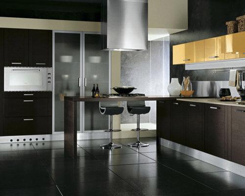 Italian kitchen cabinets houzz for Best italian kitchen cabinets