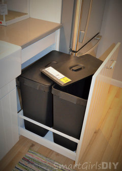 Pull Out Waste Bin For Ikea Sink Cabinet