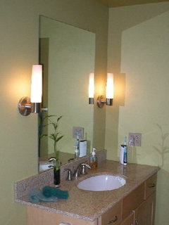 Height Of Bathroom Wall Sconces