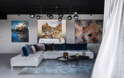 Houzz Tour: A Home Designed Around Art