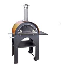 Pulcinella Oven w/ Mustard Roof Pizza Oven