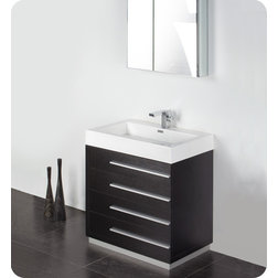 Nice Modern Bathroom Vanities And Sink Consoles by DecorPlanet